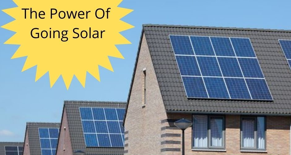 the power of going solar with free solar panels